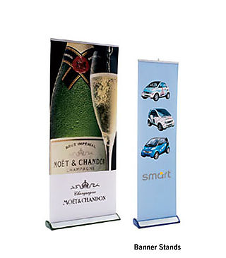 Custom tradeshow banner display full