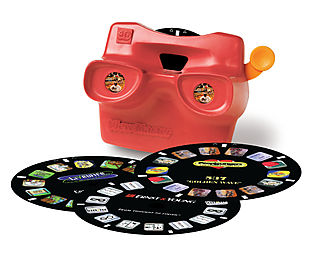 View master with logo