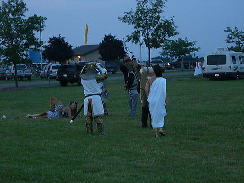 Monty Python Finger Lakes Wine Festival 002
