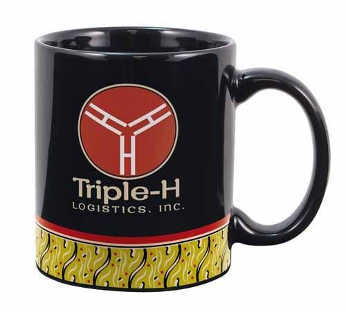 Not boring logo coffee mug