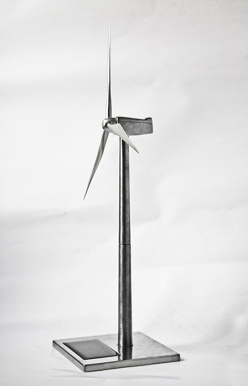 Desk Size Custom Wind Turbine
