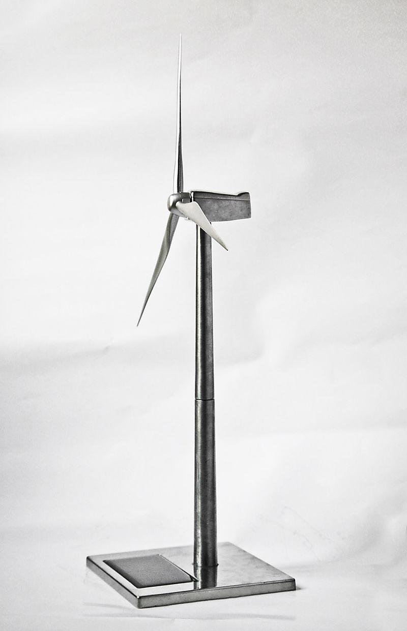 Desk Size Custom Wind Turbine