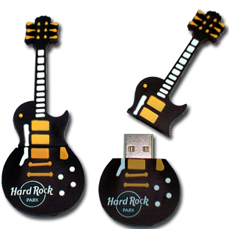 Logo guitar Flash Drive