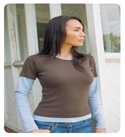 Long sleeve custom T-shirt