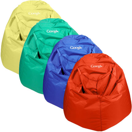 Corporate logo full size bean bag chairs