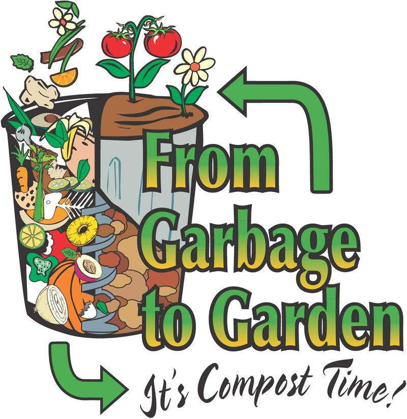 Compost logo cup