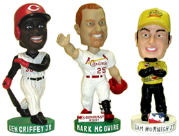 Custom bobble head figures