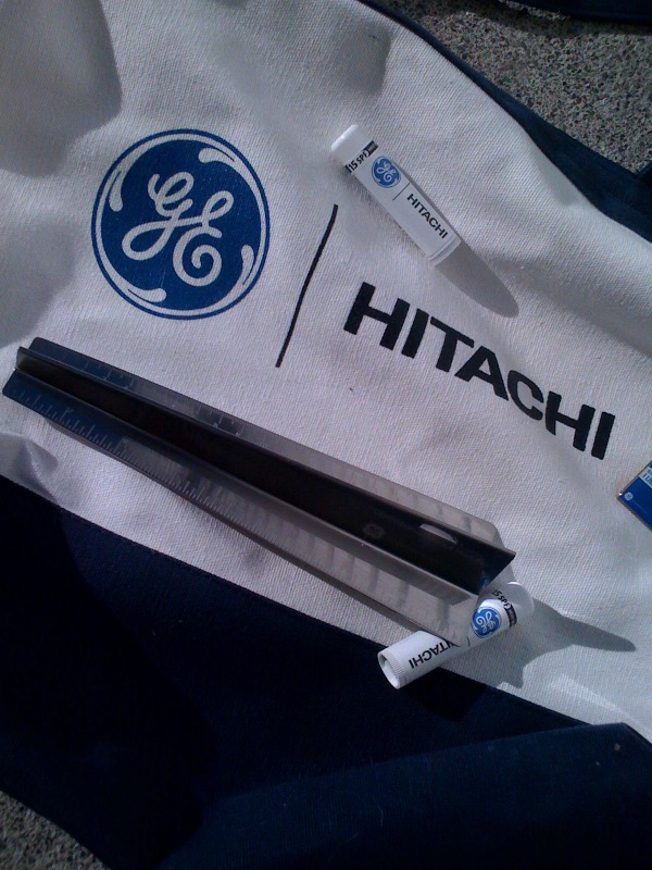Cool Logo Products GE and Hitachi