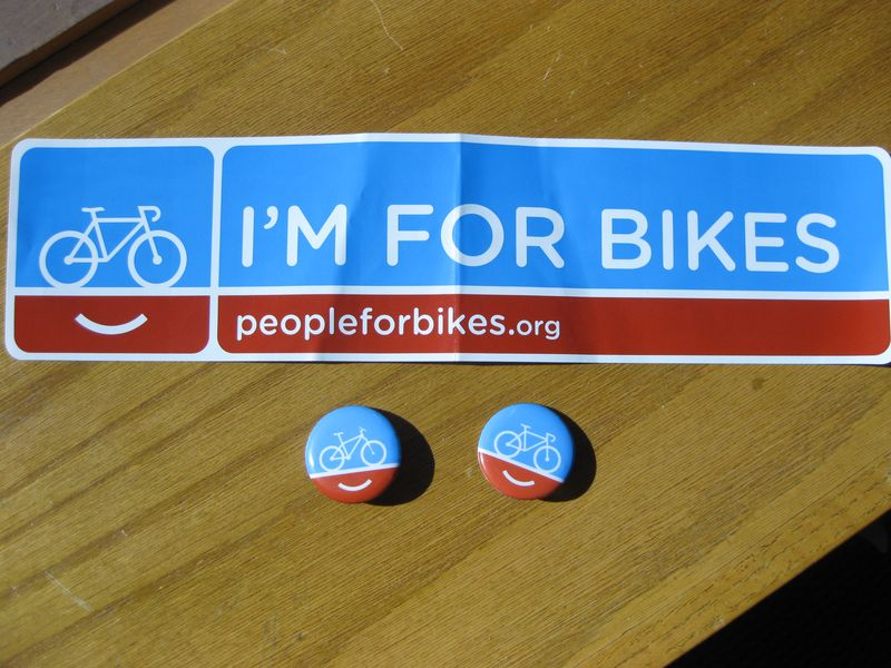 Promotions bike to work day stickers and buttons AbsolutePromo
