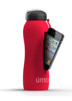 Logo iPhone water bottle absolutepromo