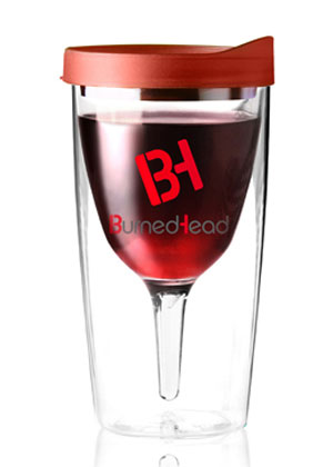 Wine glass tumbler AbsolutePromo