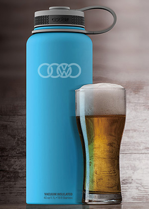 Growler flask double walled AbsolutePromo