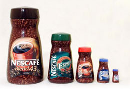 Nescafe custom shaped nesting dolls with logo  AbsolutePromo.com