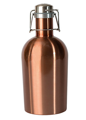Copper growler that can be customized AbsolutePromo