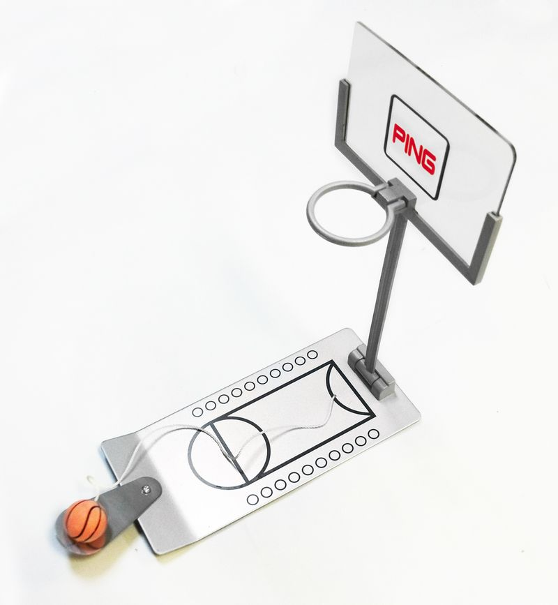 Desk size basketball game for logo AbsolutePromo