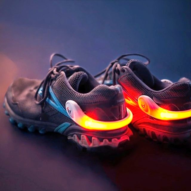 Fitness custom LED sneaker light    AbsolutePromo