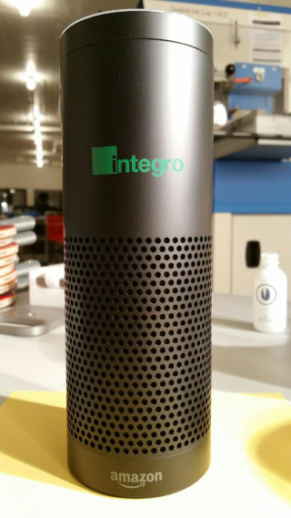 Amazon Echo with logo customized  AbsolutePromo