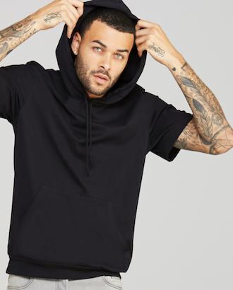 Guys custom short sleeve hoodie AbsolutePromo