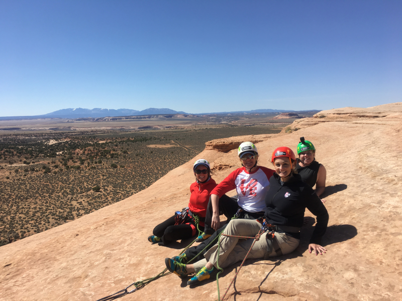 Team Effin Awesome Looking Glass Moab UT Amy  Chris  Rinda  Steph