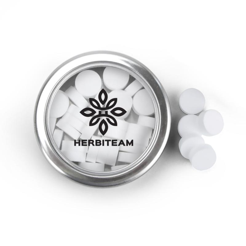 Customized logo cannabis promotional CBD infused mint AbsolutePromo.com