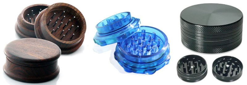 Customized cannabis grinders with logo AbsolutePromo.com