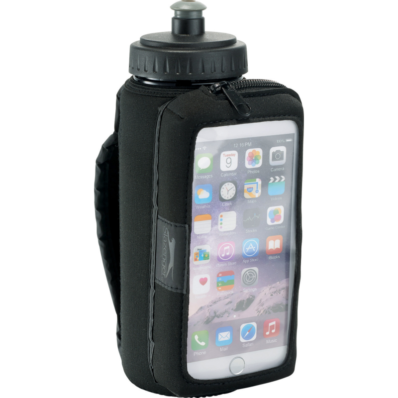 Running logo bottle holder iphone AbsolutePromo.com