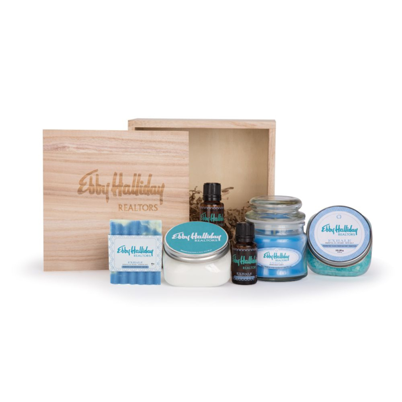 Spoiling logo gift spa set AbsolutePromo