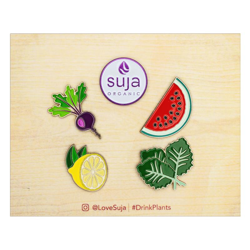 Custom lapel pins on card with logo AbsolutePromo.com